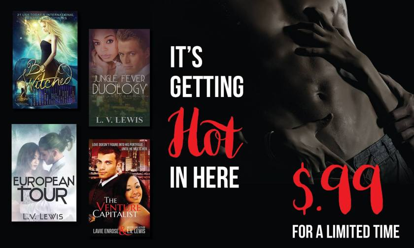 99 Cents Sale - LV Lewis Books 2